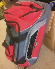 TRAVEL BAG,pull out handle,HIGH SIERRA, ROLLING BAG, CARGO/DUFFLE BAG, luggage