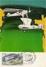 CP MAXIMUM PREMIER JOUR TRAVERSEE ATLANTIQUE NORD 1977