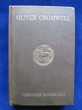 OLIVER CROMWELL - SIGNED by THEODORE ROOSEVELT to Dem. Rival ALTON B .PARKER