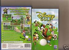 Disney GOLF PLAYSTATION 2 PS2 PS 2 Mickey Goofy Donald