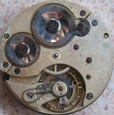 Vintage Fine pocket watch Movement Chronometer 43 mm. balance broken