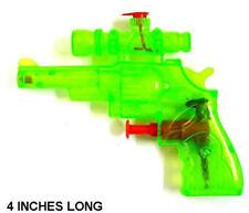36 Water Squirt Pistol W Scope 4 Inch Guns toy gun bulk party fabor pistol new
