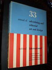 33rd Annual of Adv. & Edit. Art & Design – Art Directors Club of N.Y. (1954)