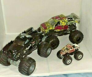 Hot Wheels Monster Jam Batman Racing - Hot Wheels Firestorm -Zombie Monster Jam