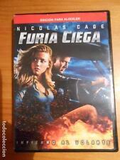 DVD FURIA CIEGA - EDICION DE ALQUILER - NICOLAS CAGE (P7)