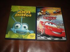 LOT 2 DVD DISNEY - LOSANGE N°86 CARS + LOSANGE N°51 1001 PATTES