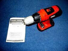 Black Decker HPD1800 18 V olt Cordless Drill 2-Speed HIGH 330LBTorque NOBATT NEW