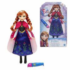 DISNEY FROZEN Bambola Anna Mantello Magico Cambia Colore - Hasbro B6701