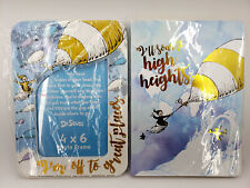 Dr. Seuss 4X6 Frame & Journal Ill Soar To High Heights / Im Off To Great Places