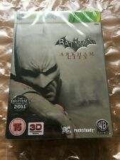 BRAND NEW SEALED BATMAN ARKHAM CITY LIMITED EDITION STEELBOOK XBOX 360 TIN CASE