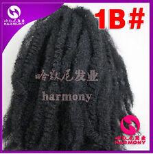"Women 20"" 50cm Kanekalon Marley Braiding Hair Twist braids Afro kinky 100gr #1B"