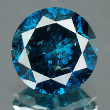 1.72 Cts BUY CERTIFIED Round Brilliant Cut Blue Color Loose Natural Diamond 3989