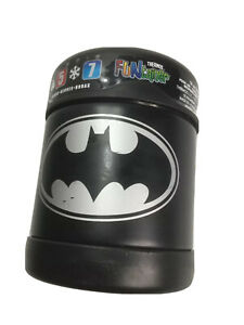 Batman Thermos Funtainer 10 oz Food Jar Keeps cold  7 hours & hot for 5 hours