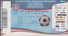 Ticket ASA TG MURES (Romania) vs SAINT ETIENNE  -30/07/2015