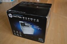 New HP Laserjet Pro M477fdn Color Laser All In One Printer w/wrty $579 NO TONER!