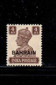 BAHRAIN #48 1942 4a KING GEORGE VI MINT VF LH O.G b