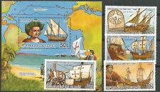 GUINEA Scott# 974/978 MNH V Centenario del descubrimiento de América Colón