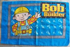 Bob the Builder Pillowcase 2001~~~ Bedding Bedroom Linen Decor Boys~Standard