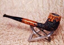 NORDING - NICE Unused semi-rustic briar pipe - long Canadian shape