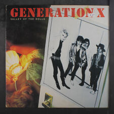 Generation X: Valley Of The Dolls Lp (sm toc, sl cw) Punk/New Wave