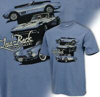 Three Generation Corvette Blue Jean Color Men's Chill T Shirt 686932