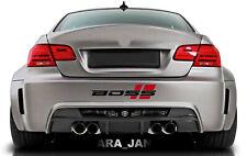 BOSS Decal Sticker Racing stripe Sport Turbo car bumper logo emblem performance