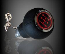 SPEED SHIFT GEAR KNOB RED LED ILLUMINATED -- PEUGEOT - 206 306 406 207 307 407