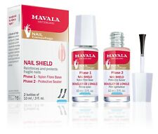 MAVALA SWITZERLAND NAIL SHIELD TWO-PHASE REINFORCEMENT FOR FRAGILE NAILS SET