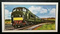 BRITISH RAILWAYS  Class 45 PEAK   Diesel Locomotive   Colour Card