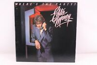Eddie Money Wheres the Party Original with insert Vinyl LP Record Album 1983