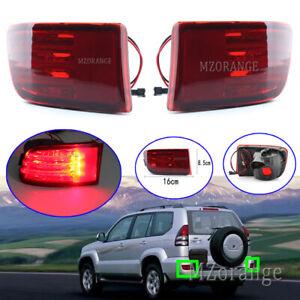 LED Rear Bumper Light Fog Brake Lamp for Toyota Land Cruiser Prado J12 2002-2010