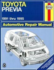 1991-1995 Toyota Previa Haynes Repair Service Workshop Shop Manual Book 2118