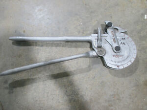 Ridgid 378 ratcheting tube bender Pt. # 35180
