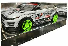 Large Range Rover Drift RC Remote Control Car 1/10 Rechargeable 20 Mph Speed
