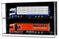 Acrylic Model Wall Display Case for 1:50 Model Trucks or 1:12 Scale Motorcycles