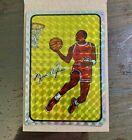 1986 Rare Michael Jordan Basketball NBA Prism Vending Machine Sticker Trade Card