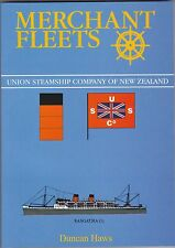 Merchant Fleets: No.32: Union Steamship Company of New Zealand by Duncan Haws (Paperback, 1997)