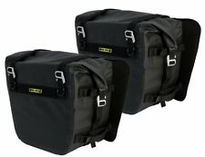 Nelson Rigg NEW SE-3050 Black Deluxe Adventure Dry Motorcycle Touring Saddlebags