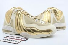NIKE AIR 3 LE NEW SIZE 10 KEVIN GARNETT METALLIC GOLD WHITE 375467 700