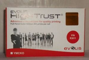 Evolis High Trust R3011 Panel Color Ribbon 200 für Pebble4 Dualys3 Securion  OVP