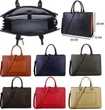 Ladies Laptop Bag Briefcase Womens Work Bag 15.6 Large Designer Office Handbag