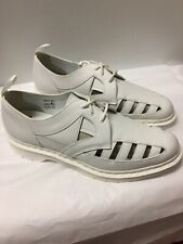 Dr. Martens Air Wair 1461CO Leather Hall Shoes 3 Eyelet White Shoes Men's 14