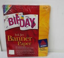 Avery 3272 Inkjet Banner Paper Great For Party Signs Welcome Home Signs Holidays