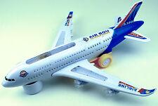 Spielzeug Flugzeug A - 380 Elektrisches Air Bus Kinderspielzeug Kinder 3+