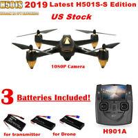 Hubsan H501S X4 5.8G FPV 10CH Brushless RC Quadcopter W/ 1080P GPS Headless RTF