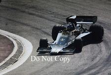 RONNIE PETERSON LOTUS JPS 76 Gran Premio di Spagna 1974 fotografia 1