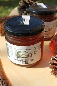 Weißtannen Honig aus dem Schwarzwald - 500 g. Glas - intensiv malziger Geschmack