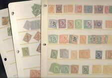 FINLAND, Excellent assortment of Classic Stamps in stock cards