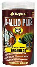 Tropical D-allio Plus Pellets With Garlic Aquarium Marine Discus Fish Food 80g - Original Doypack
