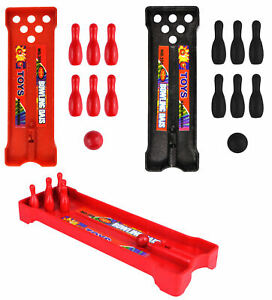 12 Mini Bowling Alleys - Pinata Toy Loot/Party Bag Fillers Childrens/Kids
